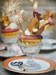 birthday party cup cakes
