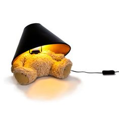 Teddy Bear Lamp now featured on Fab.