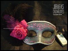 mascaras venecianas: Antifaces Veneciano - Diamantina