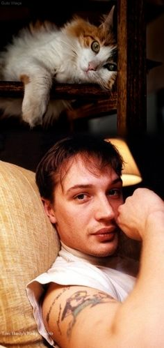 Tom Hardy cute :)