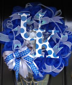 UK mesh wreath