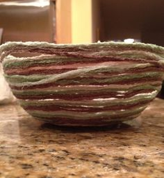HOMEMADE YARN BOWL COOL AND I HAVE EVERYTHING TO MAKE IT