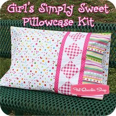 Girl's Simply Sweet Pillowcase Kit Featuring Simply Sweet by lief! Lifestyle