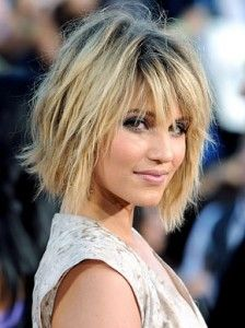 Shaggy bob photo's and how-to-