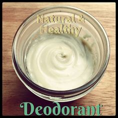 Homemade Geranium & Cedarwood Natural Deodorant Recipe