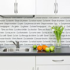 French Menu Lettering Stencil   Royal Design Studio letter stencil, backsplash ideas, kitchen backsplash, french menu, kitchen ideas, menu letter, design studios, stencils, royal design