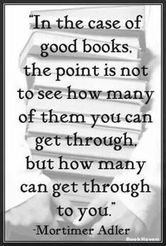 Grateful for all the good books...