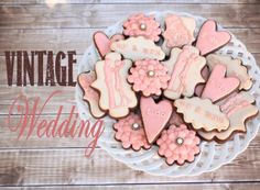 LilaLoa: Wedding Cookies and a CURE for Procrastination