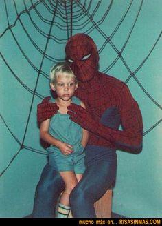 Retrato familiar de Spiderman  http://bit.ly/Mza5h4