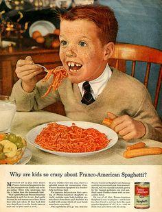 Demonic Children & Evil Teens Featured In Vintage Adverts 5