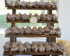 rustic cupcake stands - Google Search