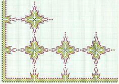 sweadish weav, swedish weav, embroideri swedish, punto yugoslavo, poınt nakış, esquema punto