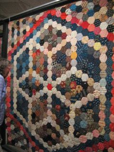 Busy Thimble: More Charm Quilts/Medallion Progress