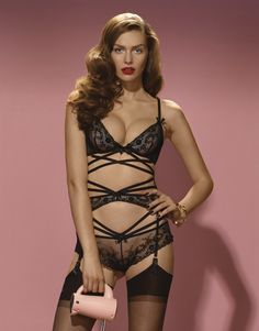 Sandra -- Spring Summer 2014 from Agent Provocateur