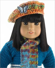3551 Doll Accessories. Crochet and knitted directions. Free patterns in knit and crochet. So glad I found this!