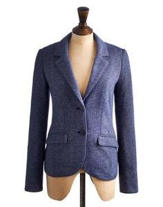 I fell in love with this Joules Womens Jersey Blazer, in Blue. It is amazingly soft and great with skirts and trousers. Joules is dressing me this year at BritMums Live -- look out for me sporting this baby.