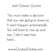 author quotes | ... Osteen Quotes and Sayings. We currently have 12 Joel Osteen Quotes