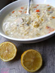 NY FoodGasm: Greek Lemon Chicken Soup.... for the soul