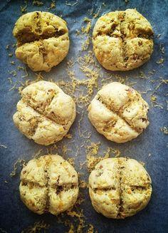Post image for Cheddar & Bacon Irish Soda Bread Rolls. (Gluten/Grain/Dairy/Soy Free.)