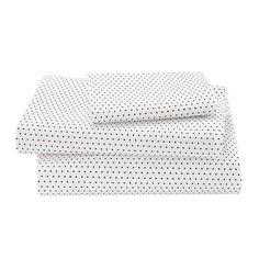 B&W Polka Dot Sheet Set | #NodWishlistSweeps