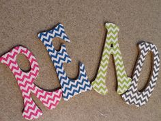 My Fabulous Class: Crafty Classroom. DIY Chevron letters
