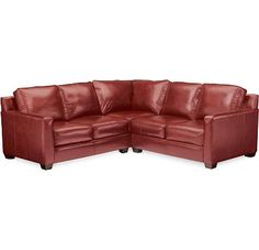 Metro Sectional thomasvill favorit, leather choic