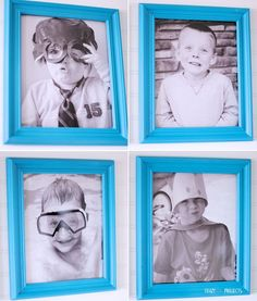 Decorating with Silly Funny Photos of your Kids | Crazy Little Projects Decorating with Pictures KristenDuke.com