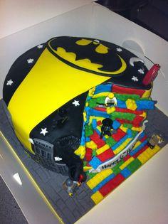 Lego batman cake for my son