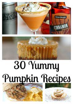 30 Pumpkin Recipes!