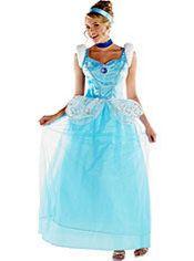 Adult Cinderella Costume Deluxe, $49.99