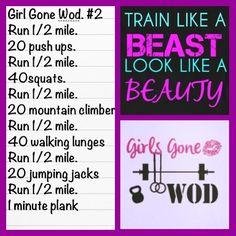 Girl Gone WOD round 2 #crossfit #WOD #TeamAwesome #crossfit #wods