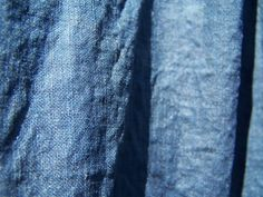 indigo on linen / cotton   Flickr - Photo Sharing!