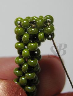 Rotating a square column. Or how to make a turn in a square cord. (Translate) #Seed #Bead #Tutorials