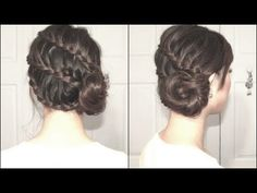 Braided Seashell Side Bun