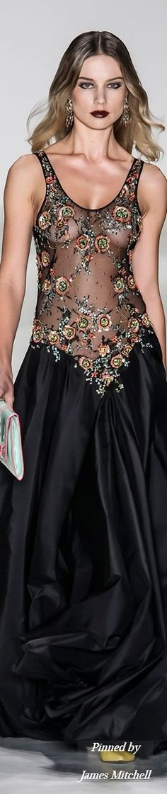 Glamour Gown...Samuel Cirnansck Collection SS 2015 Sao Paolo