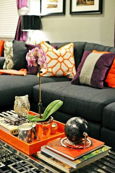 Coffee Table Idea LiveLaughDecorate: Hooray! Our Family Room Reveal