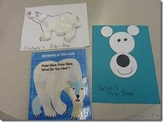 Polar Bear Ideas- thought the circle bear would be a cute idea for unit 4 math in my district