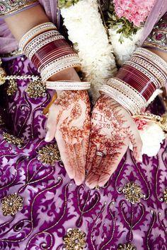 Indian wedding reception in Canada.