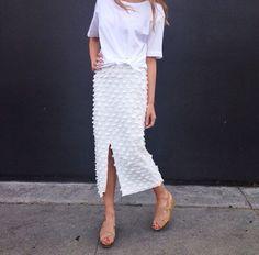 Creatures of Comfort skirt A través de Megan