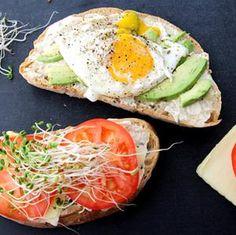Food: Fried Egg & Avocado Panini