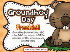 holiday, idea, printables, groundhog day activities, grade, februari classroom, printabl freebi, educ, activ freebi