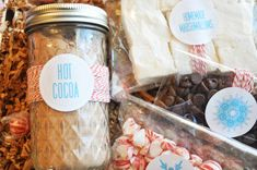 DIY Hot Cocoa Basket