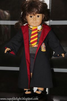 American Girl Doll Hogwarts Uniform {Delightfully Creative}