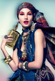why boho chic will never die - (article)