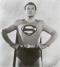 """... Superman from 1952-58 in the """"Adventures of Superman"""" television"""