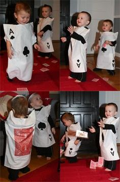 Pair of Aces Halloween Costumes - no sew