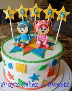Team Umizoomi cake! Noah would love this!