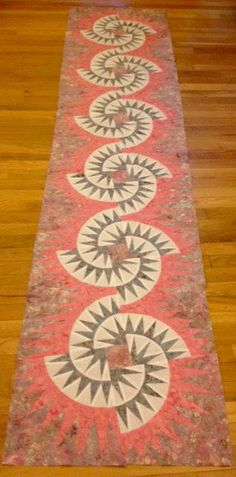 Witches Brew Bed Runner ~ Quiltworx.com, made by Certified Instructor, Ginny Radloff