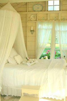 Dreamy bedroom.