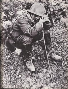 French soldier.
